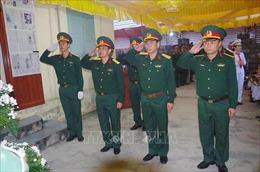 Truy thăng quân hàm cho một chiến sĩ xả thân cứu đồng đội