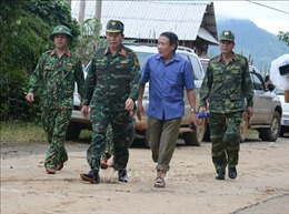 Sạt lở đất ở Hướng Hóa - Quảng Trị: Quyết tâm sớm đưa đồng đội trở về