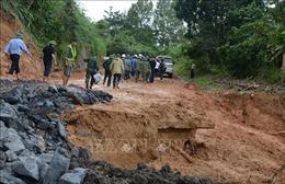 Sạt lở đất ở Quảng Trị: Tìm kiếm nạn nhân xuyên đêm nếu thời tiết thuận lợi