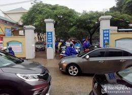 Mưa lớn, nhiều trường ở Nghệ An cho học sinh nghỉ học vào ngày 19/10