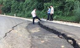Bình Phước công bố tình huống khẩn cấp ở vị trí sạt lở đường Sao Bọng - Đăng Hà