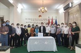 Nghĩa tình cộng đồng người Việt tại Ai Cập hướng về đồng bào miền Trung