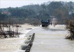 Đến chiều 3/11 hoàn thành việc di dời dân ở ba huyện miền núi Quảng Ngãi
