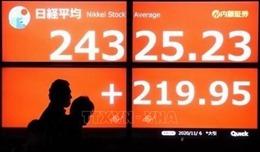 Chỉ số chứng khoán Nikkei lên mức cao kỷ lục trong gần 30 năm qua