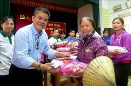 Nhiều tấm lòng thiện nguyện đến với đồng bào vùng lũ lụt ở Quảng Bình