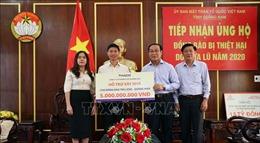 Chung tay khắc phục hậu quả bão lũ tại Quảng Nam