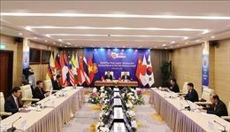 Phiên đối thoại của Lãnh đạo các nước ASEAN+3 với Đại diện Hội đồng Kinh doanh Đông Á