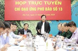 Phó Thủ tướng Trịnh Đình Dũng: Không chủ quan kể cả khi bão đã tan