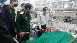 Hai chiến sỹ bị thương vong khi rà phá bom mìn, vật liệu nổ