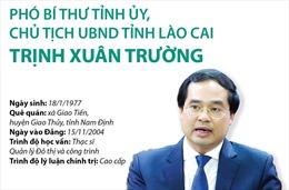 Phó Bí thư Tỉnh ủy, Chủ tịch UBND tỉnh Lào Cai Trịnh Xuân Trường