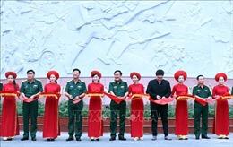 Khánh thành công trình chào mừng kỷ niệm 75 năm Ngày truyền thống Lực lượng vũ trang Quân khu 7