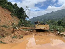 Kon Tum: Khẩn trương khắc phục các đoạn đường bị sạt lở