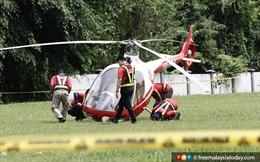 Hai máy bay trực thăng đâm nhau tại Malaysia, 2 người thiệt mạng