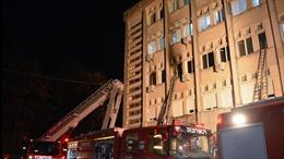 Cháy bệnh viện ở Romania, 10 bệnh nhân COVID-19 thiệt mạng
