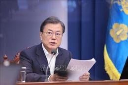 Tổng thống Hàn Quốc đề xuất biện pháp vượt qua cuộc khủng hoảng dịch COVID-19