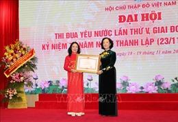 Đại hội Thi đua yêu nước toàn quốc Hội Chữ thập đỏ Việt Namlần thứ V