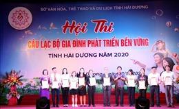Hải Dương: Nhân rộng các câu lạc bộ gia đình phát triển bền vững