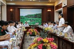 Đoàn Công tác của Ban chỉ đạo Quốc gia về phòng, chống dịchCOVID-19 làm việc tại Long An