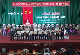 Bình Định kỷ niệm 56 năm chiến thắng An Lão