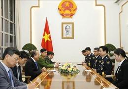 Phó Thủ tướng Trương Hòa Bình tiếp đoàn đại biểu cấp cao Cơ quan Cảnh sát quốc gia Hàn Quốc