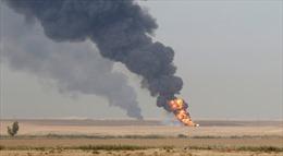 Hai giếng dầu bị đánh bom ở Iraq, chưa rõ con số thương vong