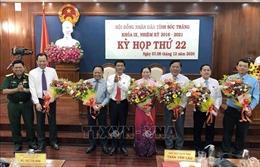 Bầu bổ sung 2 phó chủ tịch HĐND và 2 phó chủ tịch UBND tỉnh Sóc Trăng