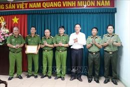 Khen thưởng thành tích phá vụ giả danh người của Bộ Công an