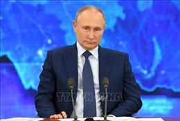 Tổng thống Nga V. Putin thông qua thành phần Hội đồng Nhà nước