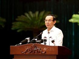 Khai mạc hội nghị Thành ủy TP Hồ Chí Minh lần thứ 3, khóa XI