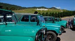 Yêu cầu chấp hành nghiêm việc tạm dừng xe U-oát chở khách lên đỉnh Lang Biang