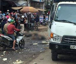Xe tải mất phanh gây tai nạn liên hoàn khiến hai người thiệt mạng