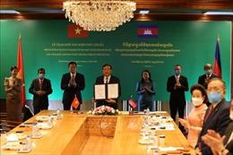 Hai văn kiện pháp lý ghi nhận thành quả phân giới cắm mốc biên giới đất liền Việt Nam - Campuchia chính thức có hiệu lực