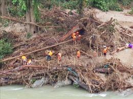 Xây dựng khu tái định cư cho đồng bào vùng sạt lở núi tại xã Trà Leng
