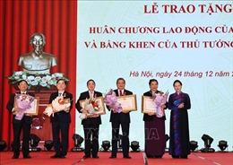 Chủ tịch Quốc hội Nguyễn Thị Kim Ngân dự Lễ trao Huân chương Lao động của Nhà nước