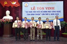 Tôn vinh trí thức tiêu biểu về khoa học công nghệ tỉnh Bình Thuận