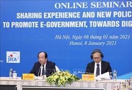 Chia sẻ kinh nghiệm của Nhật Bản nhằm thúc đẩy phát triển Chính phủ điện tử