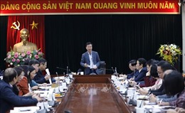 Sẽ khai trương Trung tâm Báo chí phục vụ Đại hội XIII của Đảng vào ngày 22/1