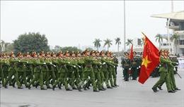 Lễ xuất quân và diễn tập phương án bảo vệ Đại hội Đảng toàn quốc lần thứ XIII
