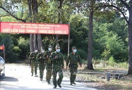 Người lính 'quân hàm xanh' trên mặt trận phòng, chống dịch COVID-19