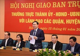 Hà Nội thực hiện 9 nhóm nhiệm vụ và giải pháp trọng tâm phát triển KT-XH năm 2021
