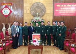 Phó Chủ tịch Quốc hội Đỗ Bá Tỵ thăm, làm việc tại Quân khu V