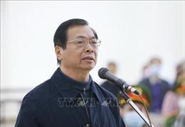 Mở lại phiên tòa xét xử cựu Bộ trưởng Vũ Huy Hoàng