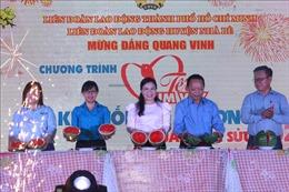 Ấm áp 'Tết sum vầy' cho công nhân lao động tại TP Hồ Chí Minh