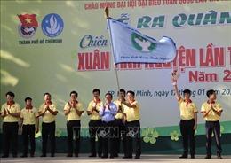 Tuổi trẻ TP Hồ Chí Minh ra quân chiến dịch 'Xuân tình nguyện'