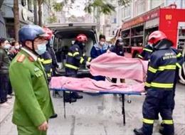 Hà Nội: Đốt vàng mã gây cháy lớn ở phòng trọ, 4 người tử vong