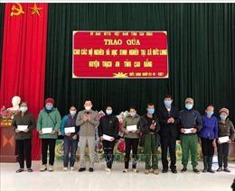 Hỗ trợ, động viên người nghèo, đồng bào dân tộc thiểu số dịp Tết