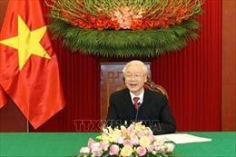 Tổng Bí thư, Chủ tịch nước Nguyễn Phú Trọng điện đàm với Bí thư thứ nhất Đảng Cộng sản Cuba