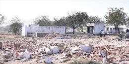 Nổ nhà máy pháo hoa tại Ấn Độ gây nhiều thương vong