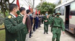 950 thanh niên Yên Bái lên đường nhập ngũ