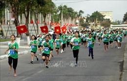 Trên 5.000 người hưởng ứng Ngày chạy Olympic - Vì sức khỏe toàn dân tỉnh Quảng Nam